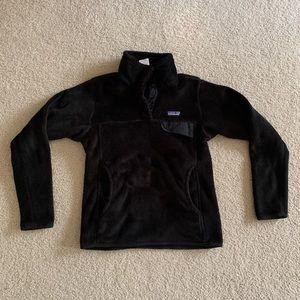 Patagonia Re Tool Snap T Fleece Black